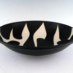 "10"" porcelain bowl by Sam Scott"