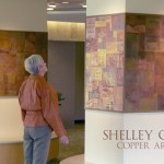 Copper artist, Shelley Carr and new installation