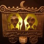 """SkeletonCaravan"" night light $52"