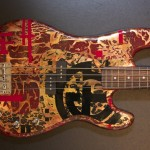 Samic Bass Guitar - mixed metals by Tom Anderson