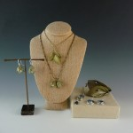 Botanical jewelry from Silver Seasons & Sheri Dixon