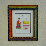 Story People print $30 - Painted Wooden Frame by Shoestring Creations $68