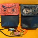 Owl handbags by P.J.Sheehy
