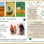 Holiday Exhibit November 20th -december 31st.