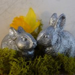 Bunny salt & pepper shakers from Table Art