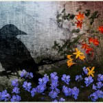 """In the Garden of Memory"" - photo collage print by Doyle Fanning"