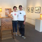 "Nikki MClure & Jay T Scott -""Waiting for High Tide"" collaborative exhibit"