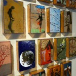 Glass on Copper Art Tiles by Houston Llew