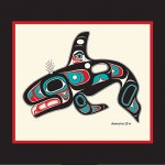 Orca print by Israel Shotridge $78