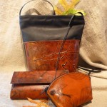 Imprinted bags from Leaf Leather -  $38 - $195