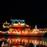 Parade of Lighted Ships and Toy Run today in Olympia