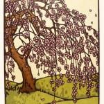 """""""Plum Blossoms"""" card from Yoshiko Yamamoto."""