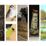 Spring Arts Walk will feature Sara Gettys, Kristen Etmund, Carls Paine, Babette Harvey & Cal Capener.