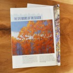 """Mary Denning's """"Autumn Glory"""" in October edition of Pastel Journal"""