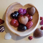 Hearts abound in stone, wood, glass and more!