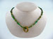 Dannielle Carbone Ancient Glass with Brass Ring Necklace