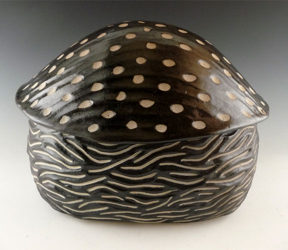 Larry Halvorsen- Spotted Oval Container