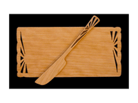 cherry wood kitchen utensils