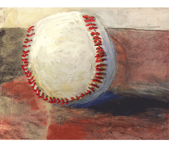 """B Ball"" by Barbara Noonan"