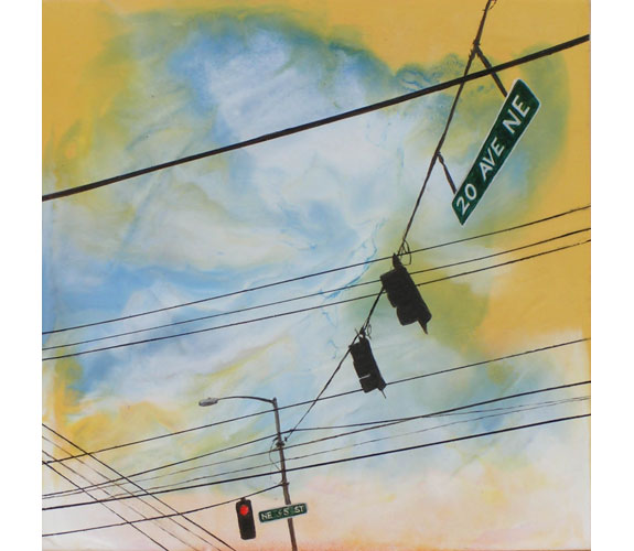 """Crossed Wires No. 22"" by Jiji Saunders"