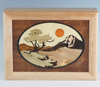 MarqArt marquetry wood box